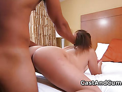 Teen Alana pussy nailed hard at XXX casting