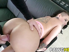 Imani Rose fucked by the pool