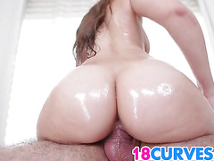 Teen Kimber Lee has the right curves