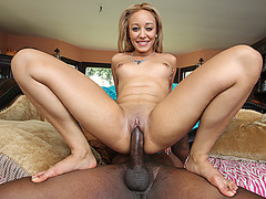 Sexy Tinslee Reagan wanted a meaty cock to fuck