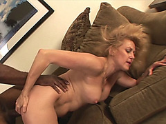 Nasty MILF gets her pussy banged from behind