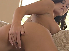 Sensual Brunette Beauty Whitney Westgate Gives Amazing Blowjob