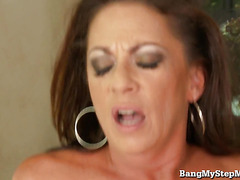 Horny MILF Fucks Stepson While Husband Is At Work!