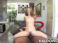 Big Black Dick Sex for Kristina Rose