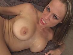 Mom caught step son jerking titty fuck blowjob