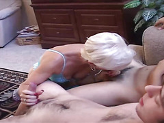 Hot Swinging Granny Shared