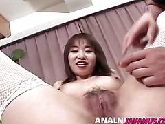 Mayu gives head before enjoying a wild fuck