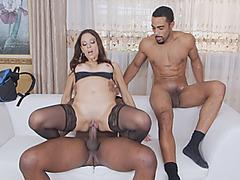 Eva Long Milf Threesome Fucking Big Cock Interracial