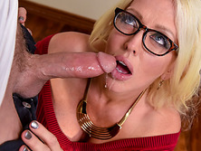 Milf stepmom sucks