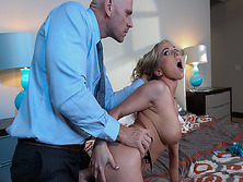 Johnny Sins screwing Christie Stevens pussy