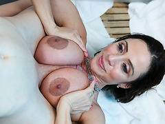 Big tittited milf Ariella bangs stepsun