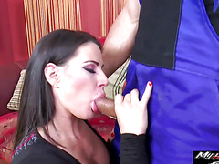 Athina Love is a nympho who loves sex