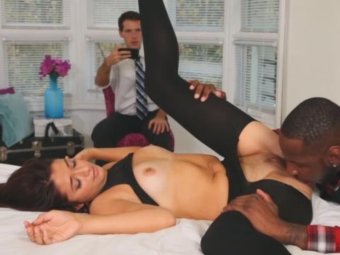 sexy big tit big ass threesome