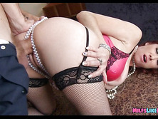 Redhead milf Fucked by Jewel thief