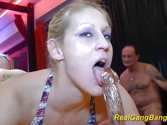 Teen gets massive cum