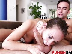 Petite slut Cassidy Klein gets fucked hard