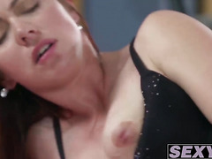 Sexy luxurious MILF hammered in her wet juicy pussy