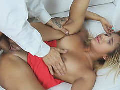 Hot PAWG Latina Ally Berry gets nailed hard on couch
