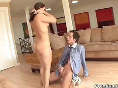 Gracie Glam pleasuring her stepdad