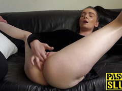 Filthy slut Maddison Rose in dirty solo masturbating session