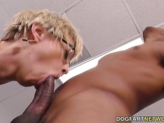 Alura Jenson & Dee Williams Take BBC Anal