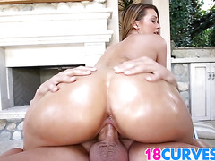Teen Abby Cross Is A Hot PAWG