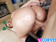 Phat ass Maddy Oreilly gets fucked good