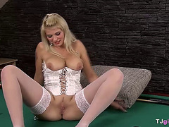 Czech slut Barbora fisted by Nathaly