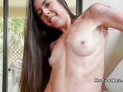 Loud Latina neighbour bangs huge dick