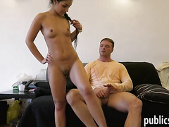Cute Czech girl picked up and pounded for some money