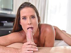Horny MILF Sofie Marie fucks her stepsons dick
