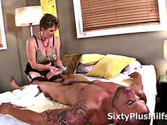 Milf Likes to Ride Younger Cock