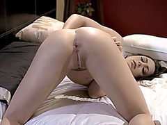 My stepsister wanted to try anal sex with my big cock