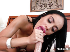Big ass Latina stepmom bangs huge dick