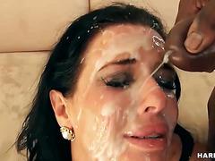 Veronica Avluv's Bukkake Porn