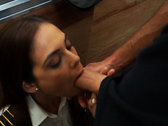 Sean Lawless loves getting sucked in front of people