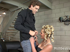 Phoenix Marie Prefers His Hard Shaft