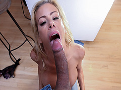 Stepson got his cock suck by step mom Alexis Fawx