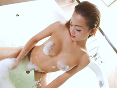Asian Trans Beauty Sammy B Gets Herself Off