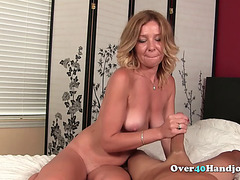 Slutty Mature Teasing Dick Until Cumshot