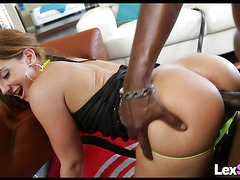 Thick White Chick Doggystyle for BBC