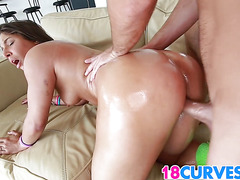 Ultra Sexy Teen Curves On Abella Danger