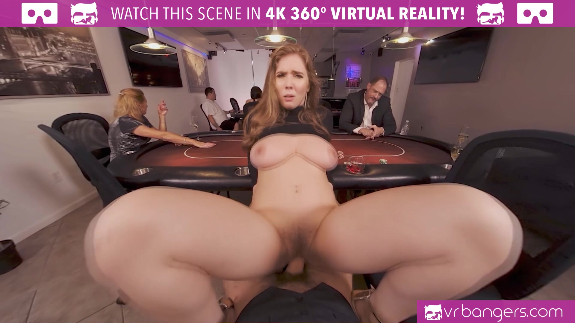 Has busty virtual babe reality with