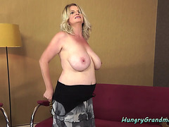 Bucktoothed Granny Fucked Doggystyle