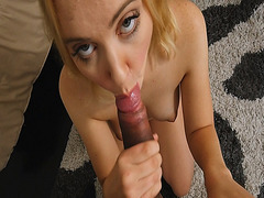 Chloe Cherry lollipop step bros big cock sucking him off clean