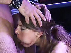 real sexclub gangbang party