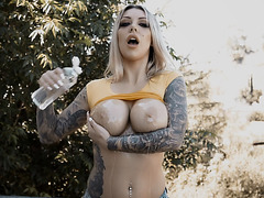 WHOO! Busty blonde babe Karma RX is just too HOT!