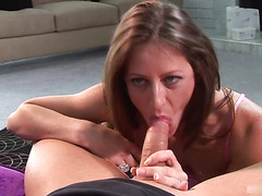Awesome anal sex with perfect brunette mature