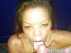 Black Milf Stripper bareback anal sex