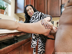 Sexy ass stepmom Lily Lane fucks from behind